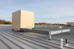 Rooftop Screen Wall